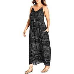 City Chic Plus Tribal-Print Maxi Dress found on Bargain Bro Philippines from Bloomingdales Canada for $70.32