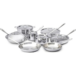 All-Clad Stainless Steel 14-Piece Cookware Set found on Bargain Bro Philippines from Bloomingdales Canada for $1265.44