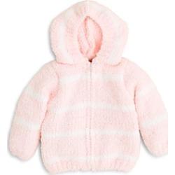 Angel Dear Girls' Striped Hooded Jacket - Baby