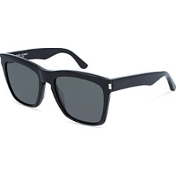 Saint Laurent Men's Oversized Rectangular Sunglasses, 55mm found on Bargain Bro UK from Bloomingdales UK