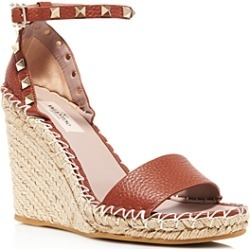 Valentino Garavani Women's Rockstud Espadrille Wedge Sandals found on Bargain Bro India from Bloomingdale's Australia for $841.46