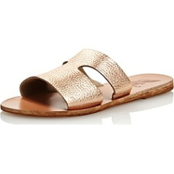 Ancient Greek Sandals Women's Apteros Flat Slide Sandals found on MODAPINS from bloomingdales.com for USD $235.00