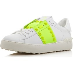 Valentino Garavani Women's Rockstud Untitled Neon Sneakers found on Bargain Bro India from Bloomingdale's Australia for $508.59
