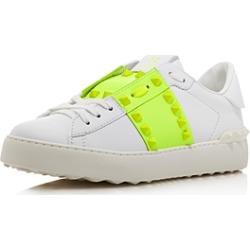 Valentino Garavani Women's Rockstud Untitled Neon Sneakers found on Bargain Bro Philippines from Bloomingdale's Australia for $508.59