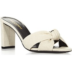 Saint Laurent Women's Loulou 75 Mule Sandals found on Bargain Bro Philippines from Bloomingdale's Australia for $735.62