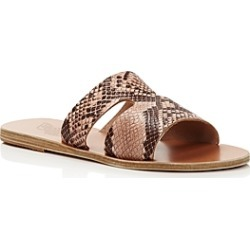 Ancient Greek Sandals Women's Apteros Flat Slide Sandals found on Bargain Bro India from bloomingdales.com for $191.25