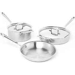 All Clad d5 Stainless Brushed 5-Piece Cookware Set found on Bargain Bro Philippines from Bloomingdales Canada for $527.75
