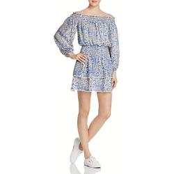 Parker Kara Off-the-Shoulder Silk Dress found on Bargain Bro India from bloomingdales.com for $116.33