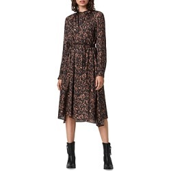Allsaints Nina Torto Printed Belted Dress found on Bargain Bro UK from Bloomingdales UK