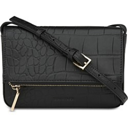 Whistles Luca Leather Croc Foldover Bag found on Bargain Bro UK from Bloomingdales UK
