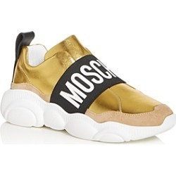 Moschino Women's Logo Strap Slip-On Sneakers found on Bargain Bro Philippines from bloomingdales.com for $425.00