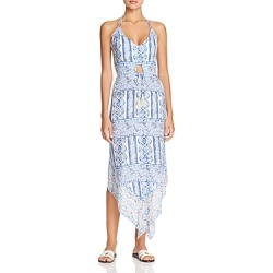 Surf Gypsy Pop Border Print Halter Dress Swim Cover-Up found on Bargain Bro Philippines from bloomingdales.com for $96.00