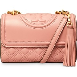 Tory Burch Fleming Small Quilted Leather Convertible Shoulder Bag found on Bargain Bro UK from Bloomingdales UK
