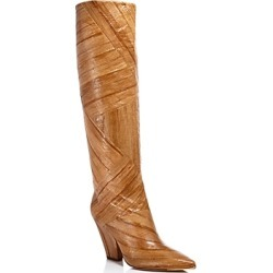Tory Burch Women's Lila Animal-Embossed Tall Boots found on Bargain Bro UK from Bloomingdales UK
