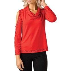 Belldini Studded Cold Shoulder Top found on MODAPINS from Bloomingdales UK for USD $84.16