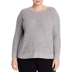 Eileen Fisher Plus High/Low Sweater