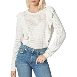 Joie Apollonia Ruffled Sweater found on MODAPINS from bloomingdales.com for USD $145.95