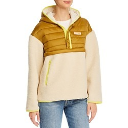 Mother The Sherpuff Zip Pullover Jacket