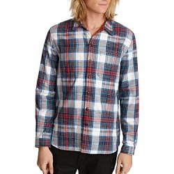 John Varvatos Star Usa Neil Reversible Plaid Regular Fit Shirt found on Bargain Bro Philippines from bloomingdales.com for $78.96