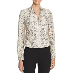 Elie Tahari Gwen Snake Suede Front Jacket found on Bargain Bro Philippines from Bloomingdale's Australia for $1058.01