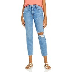 Grlfrnd Karolina Distressed Skinny Jeans in Kiss And Tell found on MODAPINS from Bloomingdales UK for USD $262.28