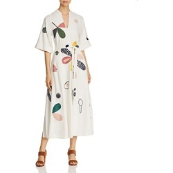 Tory Burch Embroidered Caftan Midi Dress found on Bargain Bro UK from Bloomingdales UK