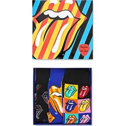 Happy Socks Rolling Stones Gift Box - Pack of 3 found on MODAPINS from bloomingdales.com for USD $48.00