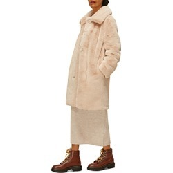 Whistles Faux Fur Coat found on Bargain Bro UK from Bloomingdales UK