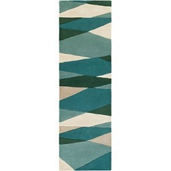 Surya Forum Fm-7204 Runner Area Rug, 3' x 12' found on Bargain Bro Philippines from Bloomingdale's Australia for $560.24