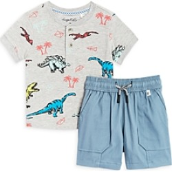 Sovereign Code Boys' Champ + Crossroads Shorts & Tee Set - Baby found on Bargain Bro from Bloomingdales Canada for USD $41.99