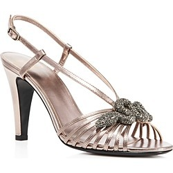 Valentino Garavani Women's Serpent Slingback Sandals found on Bargain Bro India from bloomingdales.com for $578.00