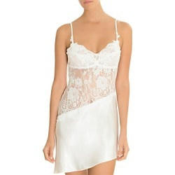 Jonquil Satin & Lace Chemise found on MODAPINS from Bloomingdales UK for USD $120.20