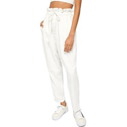 Free People Margate Pleated Cropped Pants