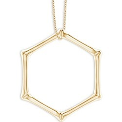 Natori 14K Yellow Gold Bamboo Look Pendant Necklace, 14-17 found on Bargain Bro India from bloomingdales.com for $2410.00