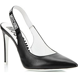 Moschino Women's Logo Slingback Pumps found on Bargain Bro India from Bloomingdale's Australia for $545.10