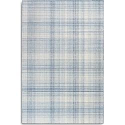 Liora Manne Preston Plaid Area Rug, 7'6 x 9'6