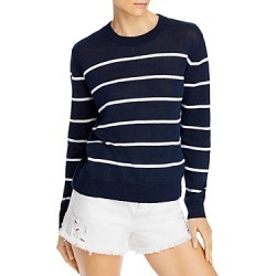 Alice + Olivia Jeane Striped Cotton & Linen Sweater found on Bargain Bro UK from Bloomingdales UK