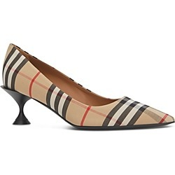 Burberry Women's Vintage Check Pumps found on Bargain Bro Philippines from bloomingdales.com for $620.00