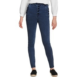 J Brand Natasha Sky High Rise Skinny Jeans in Chromatic found on MODAPINS from Bloomingdale's Australia for USD $206.86