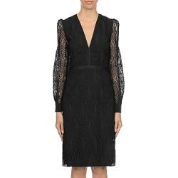 Alberta Ferretti Macrame Sheath Dress found on MODAPINS from bloomingdales.com for USD $1495.00