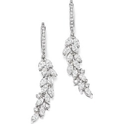 Bloomingdale's Diamond Cascade Drop Earrings in 14K White Gold, 1.90 ct. t.w. - 100% Exclusive found on Bargain Bro UK from Bloomingdales UK