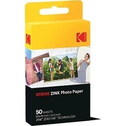 Kodak Zink Photo Paper, 2 x 3, Pack of 50
