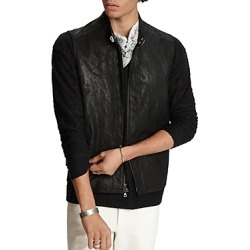 John Varvatos Collection Sheep Skin Slim Fit Vest found on Bargain Bro Philippines from bloomingdales.com for $786.45
