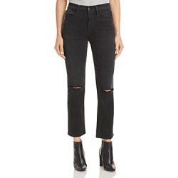 Frame Le High Straight Leg Jeans in Maverick Rips found on Bargain Bro from Bloomingdales Canada for USD $182.53