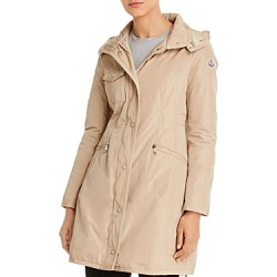 Moncler Mauve Hooded Down Coat