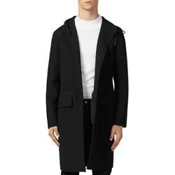 Sandro Hooded Coat