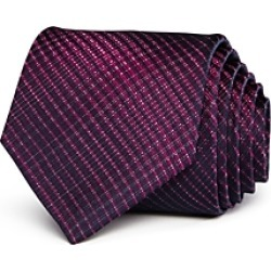 John Varvatos Star Usa Brushed Tonal Check Classic Silk Tie found on Bargain Bro India from Bloomingdale's Australia for $77.83