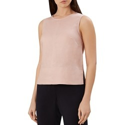 Hobbs London Halle Button-Back Linen Top found on Bargain Bro India from Bloomingdale's Australia for $85.00