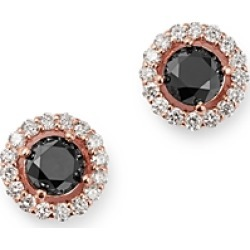 Bloomingdale's Black & White Diamond Halo Stud Earrings in 14K Rose Gold - 100% Exclusive found on Bargain Bro Philippines from Bloomingdale's Australia for $2434.43