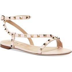 Valentino Garavani Women's Rockstud Flat Sandals found on Bargain Bro Philippines from Bloomingdale's Australia for $820.29